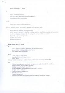 Školní potřeby pro 2. - 5. ročník ZŠ